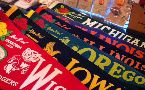 Vintage stuff at Shine Gallery: Pennants
