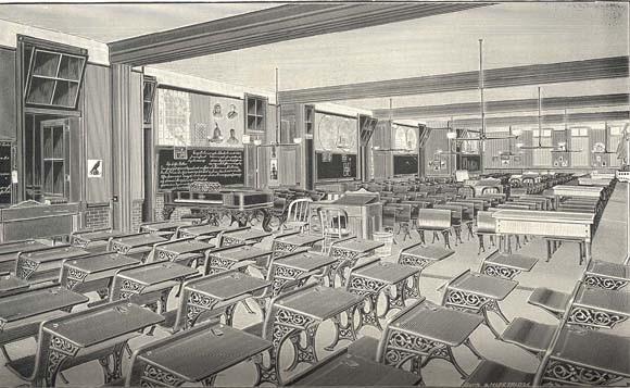Francis M. Drexel School Interior